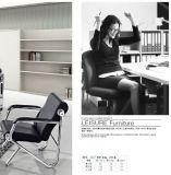 단순한 설계 좋은 품질 사무실 소파 주식 1+1+3에 있는 공중 의자 갯솜 소파 A06#