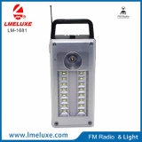 Multfunction Light avec MP3 et FM Fonction de radio Light de secours