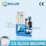 5 tonnes / jour Machine de blocage de glace commerciale approuvée par la CE pour une usine de glace