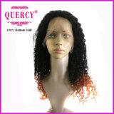 Nova peruca de cabelo encaracolado de chegada para perucas feitas à mão com perna de renda