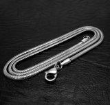 Cadena Serpiente de accesorios de moda collar de acero inoxidable 316L