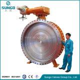 플랜지 연결 버터 플라이 밸브