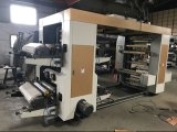 Machine d'impression hélicoïdale de Flexo de couleurs de la vitesse 4 pour le film du PE BOPP (NX-A1000)