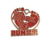 Donguanの工場記念品は金属のロゴの札を遊ばす