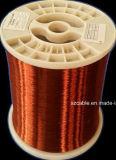 Classe de enrolamento esmaltada alumínio 200 do fio Calibre de diâmetro de fios do fio do enrolamento do cabo da SZ 220 240 graus