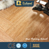 Commercial 8.3mm Embossed Hickory Waxed Edged Laminated Floor