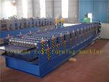 máquina de formação de rolos do painel do teto de folha dupla