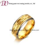 Los dedos de acero inoxidable al por mayor moda anillo anillo de Joyas de acero