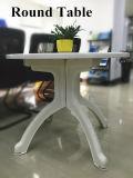 다방을%s 현대 순수한 백색 플라스틱 둥근 바닷가 Reastaurant 바 테이블