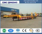 Cimc 3 Chassis van de Vrachtwagen van de Aanhangwagen van het Vervoer van het Graafwerktuig van het Bed van de As Lage