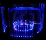음악 춤 둥근 분리된 단면도 전기 샘