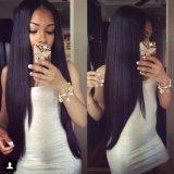 la peluca brasileña del cordón del frente del pelo humano de la Virgen del grado 7A/ata por completo la peluca