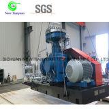 Compresor portable del nitrógeno de la alta presión de la descarga del compresor del nitrógeno