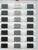 Gefärbtes Farben-Polyester 100% gesponnenes Garn