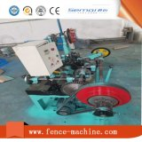Doppelte Strang-Stacheldraht-Ineinander greifen-Maschine