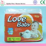 الصين مصنع مستهلكة ليّنة طفلة حفّاظة في بالات