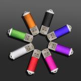 Vrij pas de Aandrijving van de Flits van het Embleem USB 2.0, 8 Kleuren aan