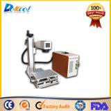Bester Faser-Laser-Hersteller Preis CNC-20W für Metallpotentiometer-Telefon-Deckel-hölzerne Fertigkeiten für Verkauf