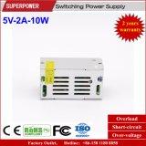 fuente de alimentación de la conmutación de 5V 2A 10W para la pantalla de visualización de LED