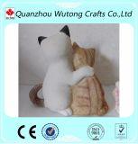 A decoração Home Flavors os Figurines animais do gato da resina