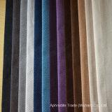 100% tela tejida poliester del terciopelo del telar jacquar para el sofá