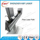 30W de draagbare Machine van de Gravure van de Laser van de Vezel op Roestvrij staal met Roterend