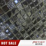 Fontes clássicas da telha do mosaico do preto do estilo, mosaico de vidro para a loja