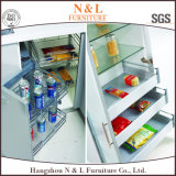 N及びLカスタムChipboardのキャビネットの食器棚