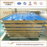 Los paneles de emparedado de las lanas de roca del aislante de los materiales incombustibles de Wiskind