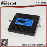 Amplificador sin hilos de la señal del teléfono celular del repetidor 2g 3G de la venda dual