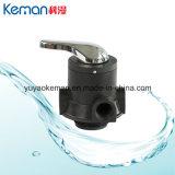 Manual de 4 toneladas de la válvula de filtración de agua con asa metálica