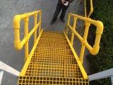 FRP Handrail / Material de Construção / Escada de Escada / Corredor de Fibra de Vidro