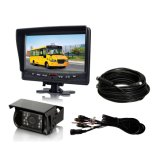 sistema alternativo de câmera de opinião traseira do carro do monitor de 7.0inch LCD