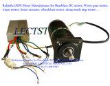 Brushless DC variável motor de três velocidades para ventilador de refrigeração e escape de carro de metrô