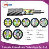 144 câble de fibre optique soufflé par air du faisceau Sm/mm pour Microduct