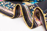 Baixa quantidade mínima para impressão personalizada de seda 100% Lady Cachecol