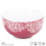 13.2cm Silk Screen Ceramic Bowl
