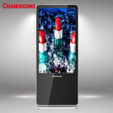 49 Totem Upstand LCD des Zoll-Ls1000cms Bildschirmanzeige Media Player mit zufriedenem Management-System