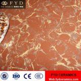 Carreaux de sol en céramique en porcelaine rouge purplish