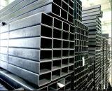 50X100m m Pre-Galvanizaron el tubo cuadrado rectangular/el tubo de acero