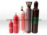 Cilindros de gás semiacabados do acetileno