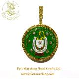 カスタム整形はPaypalのエナメルの円形の金属の記念品の子供メダルを受け入れる