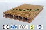Suelo plástico de madera al aire libre del compuesto WPC de la sección cuadrada con el SGS y el Ce