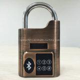 Hohe Sicherheit intelligenter Bluetooth Tür-Warnungs-Verschluss-intelligentes Vorhängeschloß