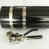 SUS304 Boucles de baguage en acier inoxydable pour une utilisation avec tresse métallique