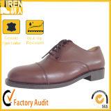中国Cheaoの工場価格の本革の軍隊の安全履物の軍のオフィスの靴
