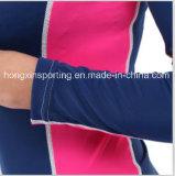 Protezione impetuosa a due pezzi di Lycra, Swimwear, usura di sport, usura di yoga