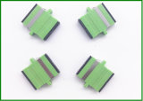 Adaptadores azuis do conetor da fibra óptica do Sc/modalidade adaptador de fibra óptica única