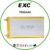 Batería de polímero 7662102 7000mAh Batería de polímero de Li-Po para GPS BATERÍA