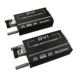 DVI al soporte de la transmisión del convertidor 4K de la fibra